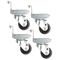Knocked-Down Hopper Caster Set MO247 | Ottawa Fastener Supply