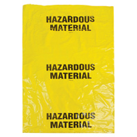Hazardous Waste Bags SEK328 | Ottawa Fastener Supply